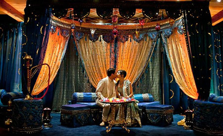 Inspiration Ideas Midnight Mendhi and Wedding Setup